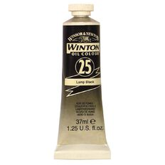 Winton Oil Paint 37ml Lamp Black