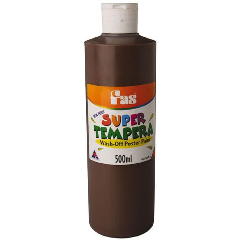 FAS Fas Paint Super Tempera 500ml Umber