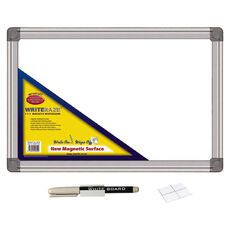 Whiteboard with Pen 250mm x 350mm White