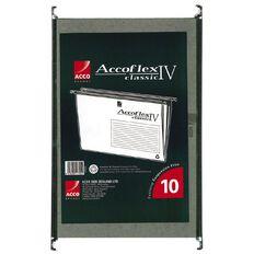 Eastlight Suspension Files Accoflex IV Foolscap Bag of 10 Green