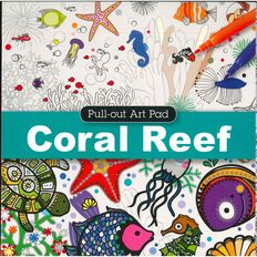 Pull Out Pad Coral Reef