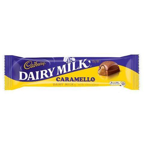 Cadbury Dairy Milk Caramello Bar 55G Multi-Coloured
