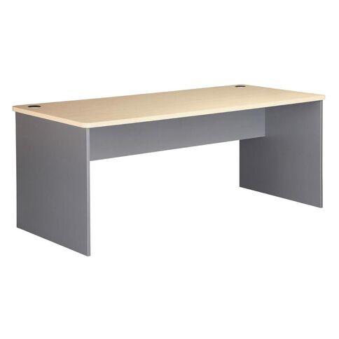 EKO 1800 Desk Nordic Maple/Silver