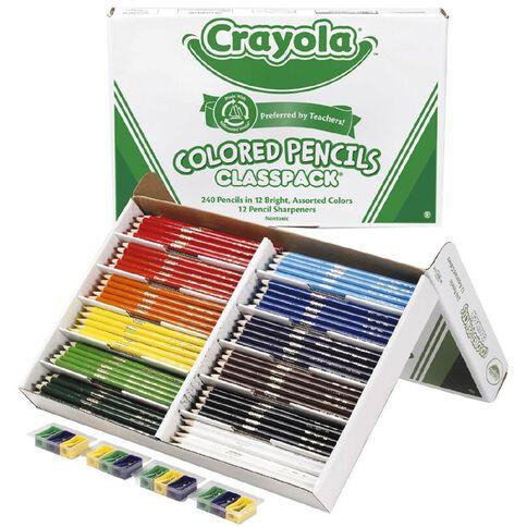 Crayola Round Colour Pencils Classpack X240