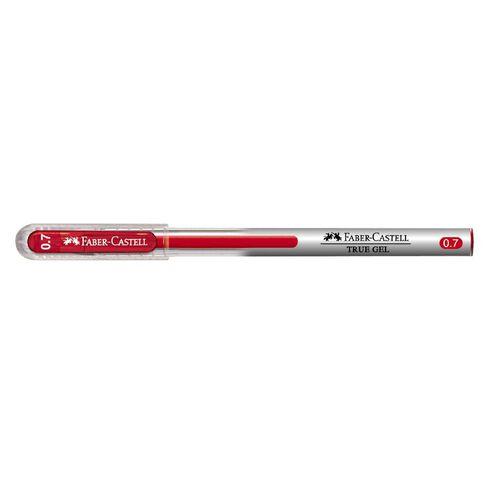 Faber-Castell Gel Pen True Gel 0.7mm Red