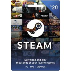 Steam Gaming Card $20
