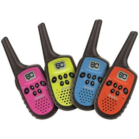Uniden Uh35-4 Quad Pack UHF Radio Multi-Coloured