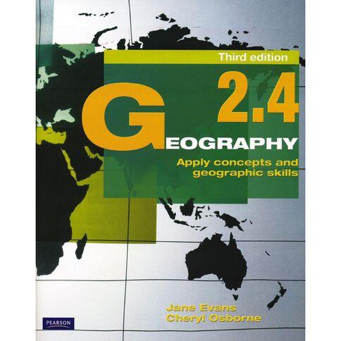 Ncea Year 12 Geography 2.4 Workbook