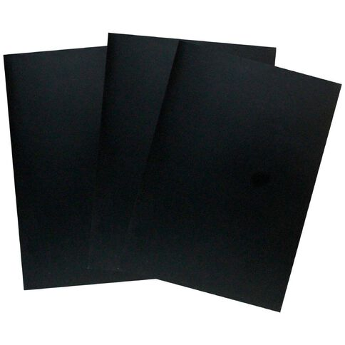 Paper Lane Journal Black 3 Pack Black A4
