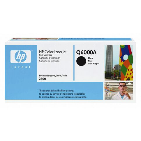 HP Toner Q6000A Black