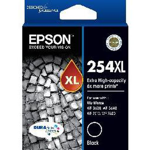 Epson Ink Cartridge 254XL Black