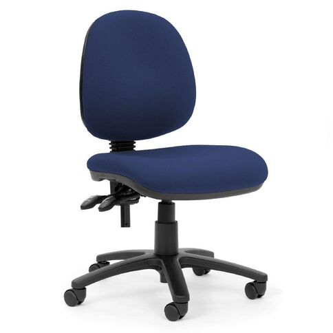Chairmaster Apex Midback Chair Indigo