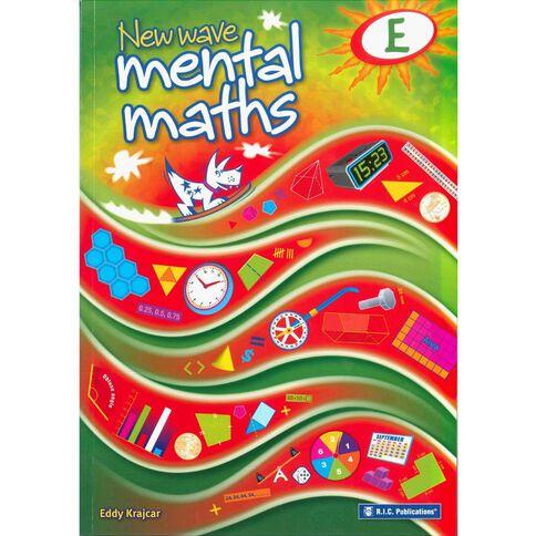 Year 5 Mathematics New Wave Mental Math E