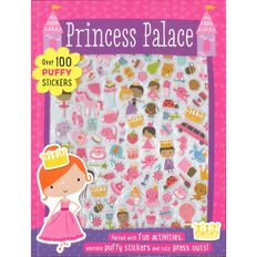 Sticker Star Princess Palace Activity Book with 3D Stickers