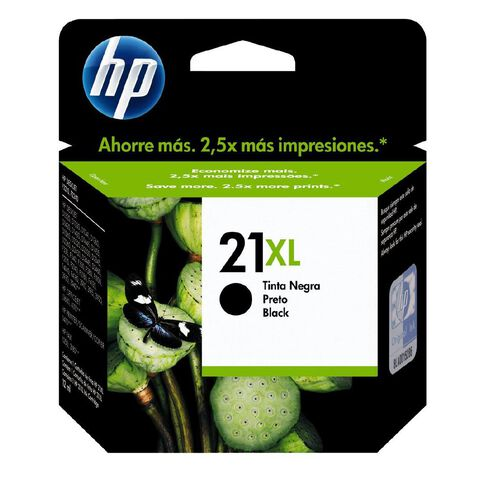 HP Ink Cartridge 21XL Black