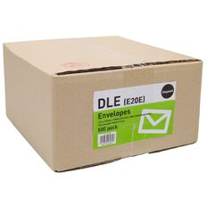 Impact Envelope Dle Non Window Seal 500 Pack White