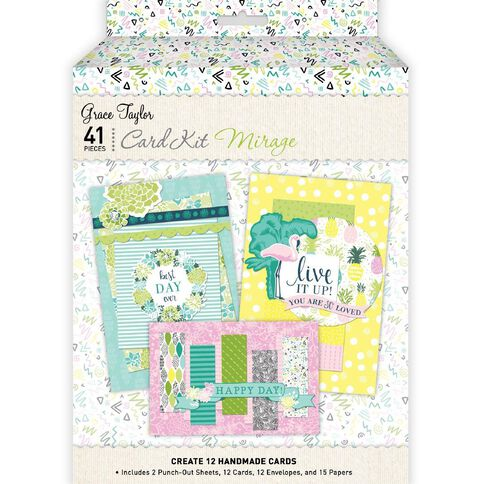 Grace Taylor Mirage Card Making Kit Multi-Coloured