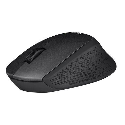 Logitech M331 Silent Plus Mouse Black