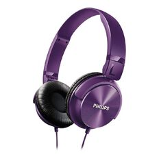 Philips Philips Dj Style Headphones Shl3060 Purple