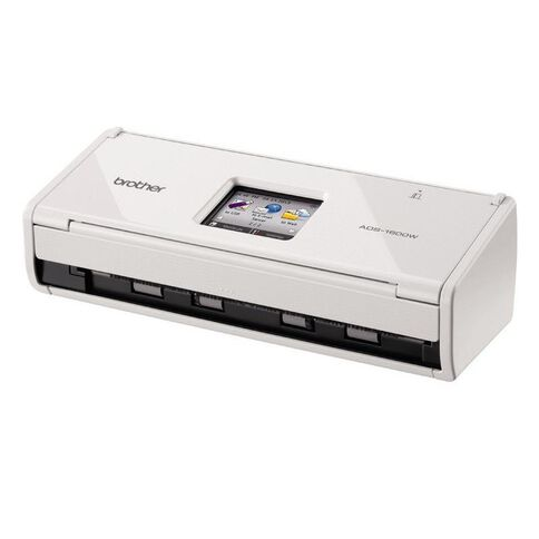 Brother Ads1600W Scanner A4 White