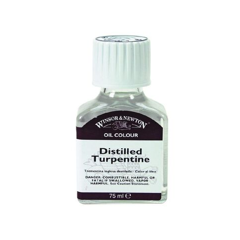 Winsor & Newton Turpentine English Distilled Clear