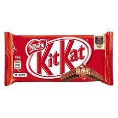 KitKat Nestle 4 Finger 45g Multi-Coloured