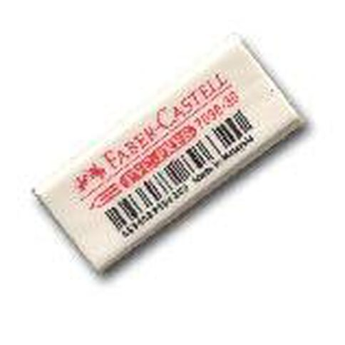 Faber-Castell Eraser 7096-30 Pvc Free Small (Loose) White