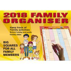 Family Organiser 2018 Calendar