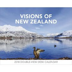 Brown Trout 2018 Calendar Visions of New Zealand Desk Easel