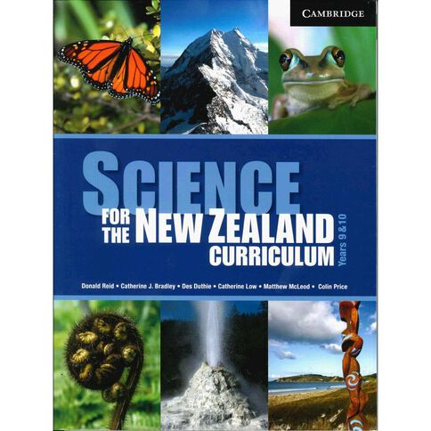 Years 9 Science For Nz Curriculum 9/10