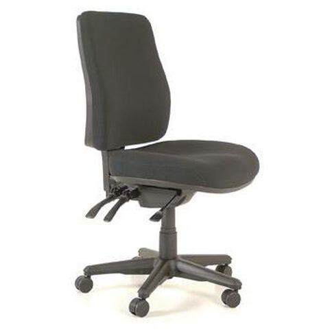 Buro Seating Roma 3 Lever Highback Chair Black