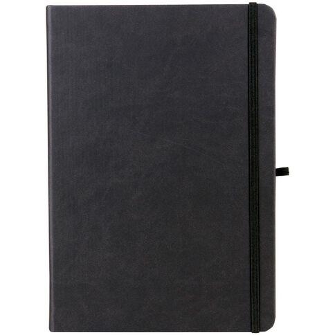 Paper Lane Journal PU Black A4