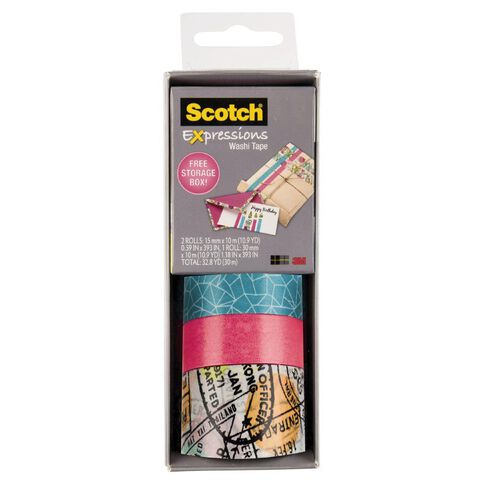Scotch Washi Craft Tape Multipack Travel