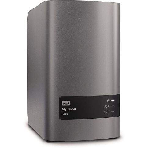 Wd My Book Duo 8Tb Desktop Hard Drive Black