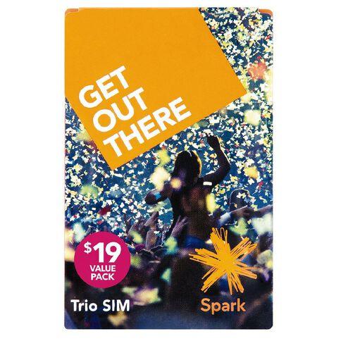 Spark Sim Trio Pre VP19 White