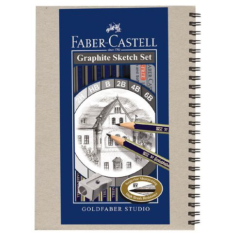 Graphite Pencil Sketch Set + Visual Diary