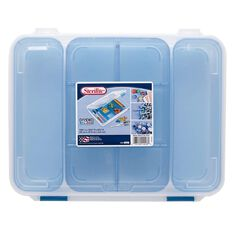 Sterilite Craft Divided Case Blue