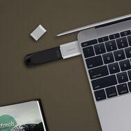 mbeat Attache USB Type-C To USB 3.1 Adapter Black