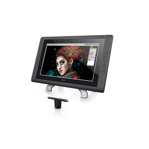 Wacom Cintiq 22Hd Interactive Tablet Display Pen & Touch Black
