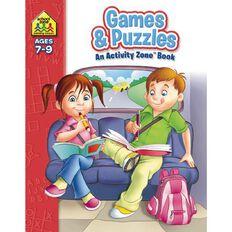 Activity Zone Workbook Games & Puzzles (7-9) by Schoolzone