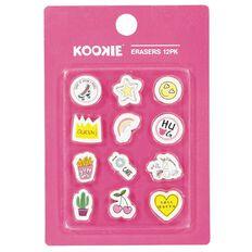 Kookie Erasers 12 Pack