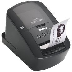 Brother Wireless Label Printer Ql720Nw Black