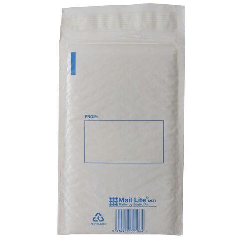 Mail Bag Lite Size 1 133 x 210mm White