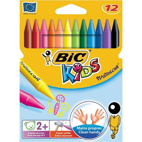 Bic Children's Colouring Crayons 12 Pack