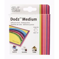 3L Dodz Medium 9mm 300 Pack Clear