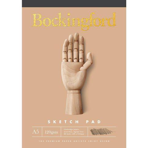 Bockingford Sketch Pad B21 120gsm 60 Leaf
