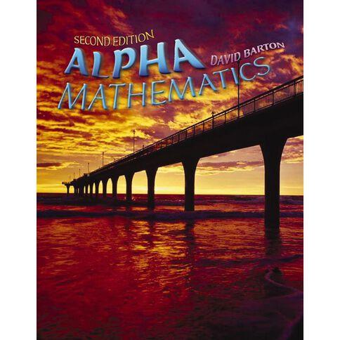 Year 9 Maths Alpha Mathematics Textbook