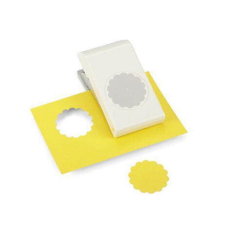 Ek Success Scallop Punch Circle 1.7 White