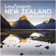 Calendar 2018 NZ Landscape 290mm x 290mm