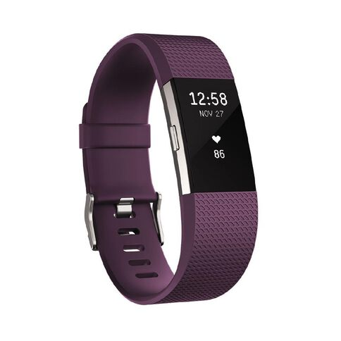 Fitbit Charge 2 Small Plum